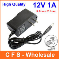 dc converter - 100pcs AC V V Converter Adapter DC V A mA Power Supply US plug EU Plug DC mm x mm Low price