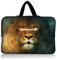 """Unisex Yes Fasion Wholesale-Lion King 17"""" Ultrabook Laptop Bag Notebook Case Neoprene Cover Pouch Protector +Hide Handle For 17.4"""" 17.3"""" HP Dell Acer Asus"""