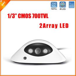 Newest UFO Shape Wide Angle 2 Array Led IR Color Indoor Home Dome CCTV Security Camera CMOS Security Camera