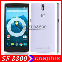Wholesale In stock Original Oneplus ONE quot Qualcomm Snapdragon801 Quad Core GHz x1080P MP G RAM G ROM G G phone LTE OTG NFC