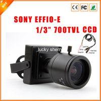 "700TVL Yes Video Camera 1 3"" 4-9 mm Varifocal Lens F1.6 SONY EFFIO-E CCD 700TVL HD Indoor Mini CCTV Security Camera with OSD Menu"
