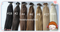Brazilian Hair #1b#2#4#6#8#27#60  Straight GradeAAAAA Flat-tip Hair Extensions 100% Vgirgin Brazilian Remy Human Hair Extensions 18''--28'' In Stock 3pcs lot free shipping by DHL