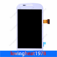 For Samsung Galaxy S3 mini i8190  LCD Screen Panels  1 pcs with free shipping LCD display replacement For Samsung Galaxy S3 mini i8190 LCD Display Touch Screen Digitize Replacement