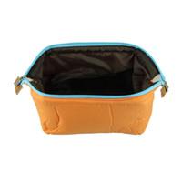 Cosmetic Cases Yes Zipper 2014 Women Lady Makeup Beauty Collect Storage Handbag Cosmetics Bag Nylon Cosmetic&Sanitary Napkin Organizer Bags Orange Red