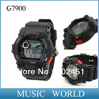 Wholesale Rubber Nail and steel nail g7900 g watch wristwatch support mixr color style