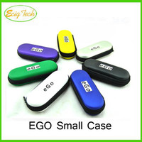 E-cigarette Leather Ego small case Packing Compact Small Size EGO starter kit Carrying Bags Electronic Cigarette ego small case package