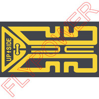 Wholesale Shiny Antenna Booster Sticker Generation X Plus Revised Edition by