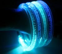 Wholesale A new generation of romantic LED bracelets bracelets Children s luminous hot flash toys gift one bag