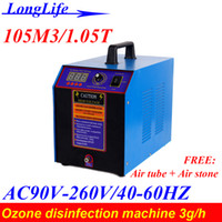 Wholesale LF WD M3 T Home g ozone air purifier and water sterilizing machine Prevention of avian influenza Home air purifier ozone generator