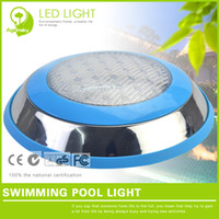 Swimming Pool ac pools - Stainless Steel LED Swimming Pool Light W RGB V Waterproof LED light for Outdoor Pool Lighting