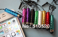 Wholesale Mini Stylus Touch Pen with plastic material capacitive touch pen for mobile phone tablet PC300pcs