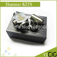 Metal Yes Mechanical Mod 100pcs lot Hammer style Epipe Mod Electronic cigarette Hammer E pipe Mod Mechanical Suitable for 18350 18650 battery