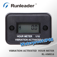 1.4 cm truck and engine - Waterproof Vibration hour meter for any gasoline diesel engine and electric motor lawn mower chain saw tractor truck RL HM016