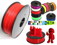 Wholesale 2014 DHL KG D printer filaments PLA ABS mm mm kg plastic Rubber Consumables Material MakerBot RepRap UP Mendel