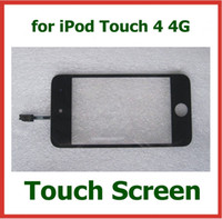 Wholesale 30pcs Replacement Touch Screen with Glass for iPod Touch G Digitizer Touch Screen Black White Color