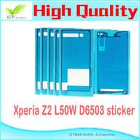 Wholesale 10set full set Battery Cover waterproof Adhesive Tape Sticker For Sony Xperia Z2 L50U L50W L50 total