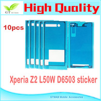 cover For Sony Xperia Z2 - 10 full set Battery Cover waterproof Adhesive Tape Sticker For Sony Xperia Z2 L50U L50W L50 total