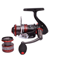 Freshwater 1000 Series Pre-Loading Spinning Wheel Trulinoya Black Hawk HY1000 Ultra Light Spinning Fishing Reel Two Aluminum Spools 10 Ball Bearings