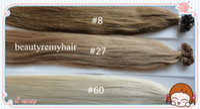 Malaysian Hair #1b#2#4#6#8#27#60  Straight Fabulous Flat-tip Hair Extensions 100% Virgin Malaysian Remy Human Hair Extensions 18''--28'' 3pcs lot free shipping by DHL