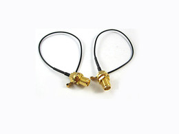 Wholesale Sma Female Connector to U FL IPX Ipex Antenna WiFi Pigtail Extension Cable cm