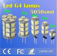 Wholesale V G4 LED Lamp Bulb SMD Light Home Car RV Marine Boat LED Lighting