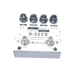 Wholesale JOYO D SEED Dual Channel Digital Delay Effect Pedal True Bypass