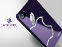 Wholesale New arrival mobile phone case fashion High Quality Luxury Bling Crystal Diamond Case Back Cover For iPhone4S G