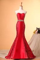 2014 New Design!Silk Red Dresses Evening Wear Dresses Women ...