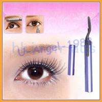 Wholesale Mini Portable Electric Heated Eyelash Curler Eye Lashes Pen Style
