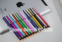 Wholesale DHL Metal Stylus Touch screen Pen for ipad iphone itouch playbook tablet pc