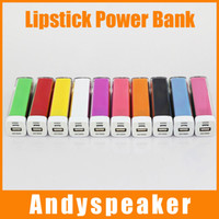 batteries used mobile phones - Lipstick Power Bank Universall Use Real MAH External Battery For Mobile Phones up