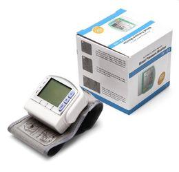 Home Automatic Digital LCD Wrist Blood Pressure Monitor Heart Beat Meter Sphygmomanometer Prevent Hypertension CK-103