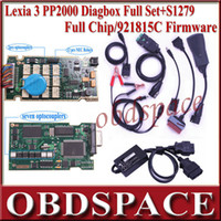 Wholesale Hot sale full set S1279 full chip lexia lexia pp2000 citroen peugeot with latest diagbox v7