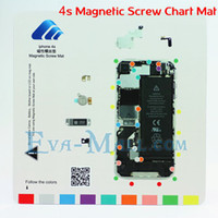 Wholesale Brand New Magnetic Screw Chart Mat LCD Screen Repair Tool for iPhone s