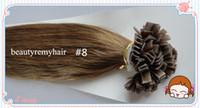 Malaysian Hair #1b#2#4#6#8#27#60  Straight Beautiful Flat-tip Hair Extensions 100% Virgin Malaysian Remy Human Hair Extensions 18''--28'' free shipping by DHL