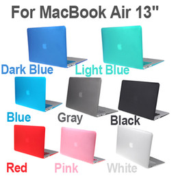 Macbook shell 13 en Ligne-Shell Case Matte Hard Cover Protector clavier pour MacBook Air 13 C1852