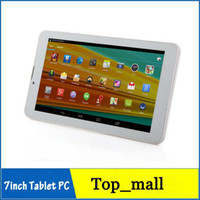 Wholesale MTK8312 inch Dual Core G Phone Call Tablet PC Android GPS bluetooth Wifi Dual Camera with flash Phablet Cheapest