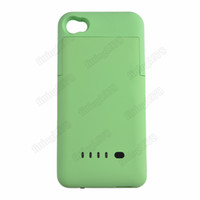 iphone 4 4G 4S   30 pc Backup External 1900mAh Battery Charger Case Cover Power Bank for iphone 4 4G 4S free shipping by DHL UPS