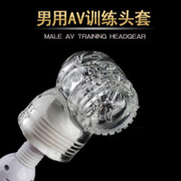 Man Realistic Vaginas Masturbators Male Masturbation Squirt AV Attachment Headgear,Men Delay Spray Training Device,Sex toys for man