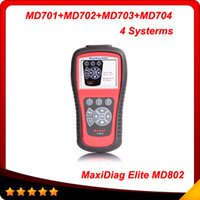 [Authorized Distributor] AUTEL MaxiDiag Elite MD802 4 system...