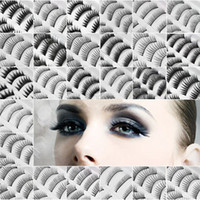 Wholesale New Fashion Women s Girl s Pairs in a SET Natural OR Thick Fake False Eyelashes Eye Lash STYLES CHOICE tx8