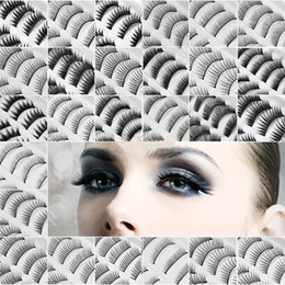Wholesale Hot Sales Pairs in a SET Natural OR Thick Fake False Eyelashes Eye Lash STYLES CHOICE tx8