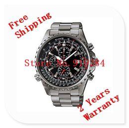 Wholesale New EF D AV Men s Series Black Dial EF D M Sports Chronograph D Watch Second Stopwatch Swing Pendulum Function
