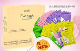 Wholesale PILATEN Crystal Collagen Eye Mask Crystal Eyelid Patch anti wrinkle moisture pairs box box
