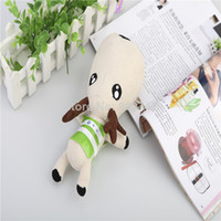 Wholesale Fawn doll car deodorant bamboo charcoal bag purify auto air freshener lessen radiation indoor decoration toys