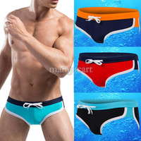 Wholesale New Arrival Men s Swimwear Sexy Swimsuits Mens Swim Briefs Swimming Trunks Low Rise SV004376