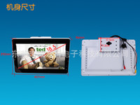 bus advertising player - 18 roof mounted metal fram flip down bus advertising player with SD CF HDMI OTG bus tv monitor