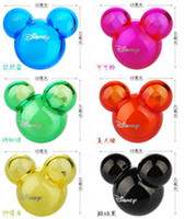 Wholesale 1Pairs Hot Selling Lovely Mouse Head Candy Color Air Freshener Perfume Diffuser for Auto Car Perfume Holder
