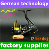 Saltwater   (Just 100pcs!! Original Factory )New German technology 12bb KB 3000 series spinning reel fishing reel sale for feeder fishing 2014 new top 1