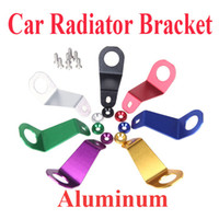 radiators - Aluminum Alloy Radiator Car Stay Bracket for Honda Civic EG Black Silver Red Green Golden Purple Blue K1091